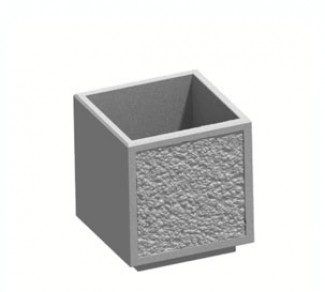 Цветочница, бетонный вазон Ц16