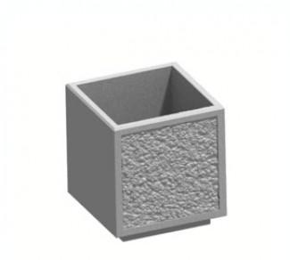 Цветочница, бетонный вазон Ц17