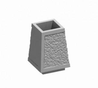 Урна из бетона У-4